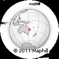 Outline Map of Caloundra