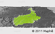 Physical Panoramic Map of Ipswich, darken, desaturated
