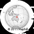Outline Map of Mareeba