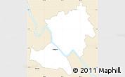 Classic Style Simple Map of Rockhampton