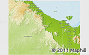 Physical 3D Map of Thuringowa