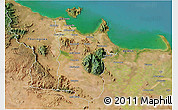 Satellite 3D Map of Townsville