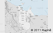 Silver Style Map of Townsville