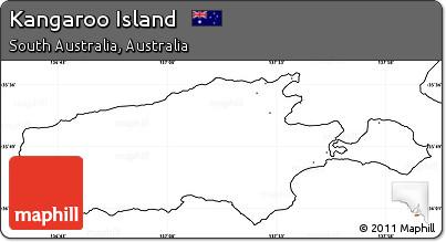 Map Of Australia Kangaroo Island.Free Blank Simple Map Of Kangaroo Island No Labels