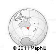 Outline Map of Banyule