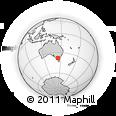 Outline Map of Kingston