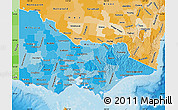 Political Shades Map of Victoria
