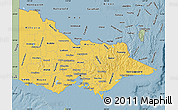Savanna Style Map of Victoria