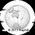 Outline Map of Maribyrnong