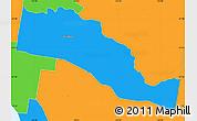 Political Simple Map of Stonnington