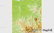 Physical 3D Map of Wangaratta