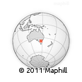 Outline Map of Wangaratta