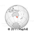 Outline Map of Warrnambool