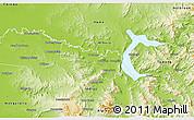 Physical 3D Map of Wodonga