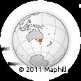 Outline Map of Wodonga