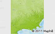 Physical 3D Map of Jerramungup