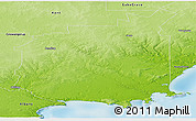 Physical Panoramic Map of Jerramungup