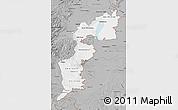 Gray Map of Burgenland