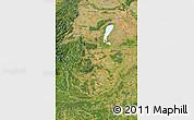Satellite Map of Burgenland