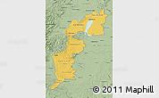 Savanna Style Map of Burgenland