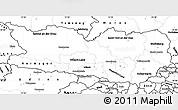 Blank Simple Map of Kärnten