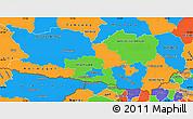 Political Simple Map of Kärnten