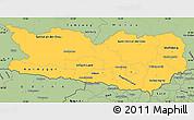 Savanna Style Simple Map of Kärnten