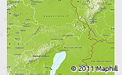 Physical Map of Bruck an der Leitha