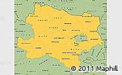 Savanna Style Simple Map of Niederösterreich
