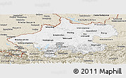 Classic Style Panoramic Map of Oberösterreich