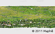 Satellite Panoramic Map of Oberösterreich