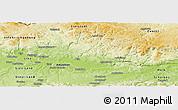 Physical Panoramic Map of Perg