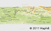 Physical Panoramic Map of Scharding