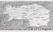 Gray 3D Map of Steiermark