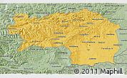 Savanna Style 3D Map of Steiermark