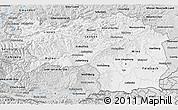 Silver Style 3D Map of Steiermark