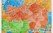 Political Shades Map of Steiermark