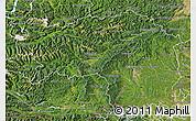 Satellite Map of Steiermark