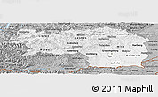 Gray Panoramic Map of Steiermark
