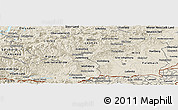 Shaded Relief Panoramic Map of Steiermark