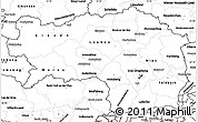 Blank Simple Map of Steiermark