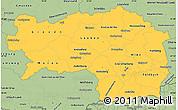 Savanna Style Simple Map of Steiermark