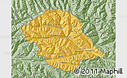 Savanna Style Map of Lienz