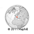 Outline Map of Dornbirn