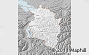 Gray Map of Vorarlberg