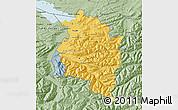 Savanna Style Map of Vorarlberg