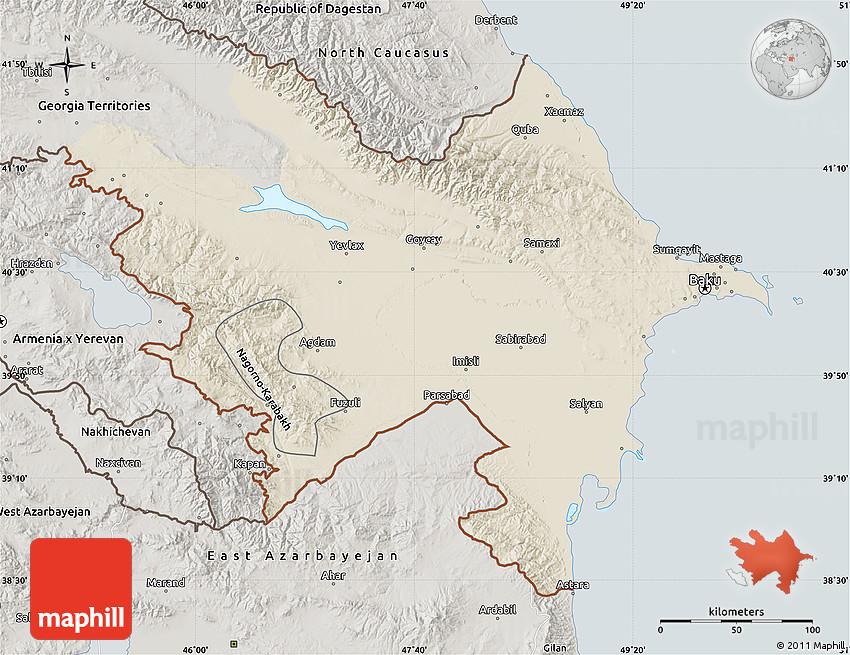 Daxil olunan ermenistan xeritesi su00f6zu00fcne esasen mobil axtaru0131u015f sisteminin elde etdiyi u015fekilleri...
