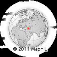 Outline Map of Nakhichevan