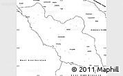 Blank Simple Map of Nakhichevan