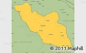 Savanna Style Simple Map of Nakhichevan
